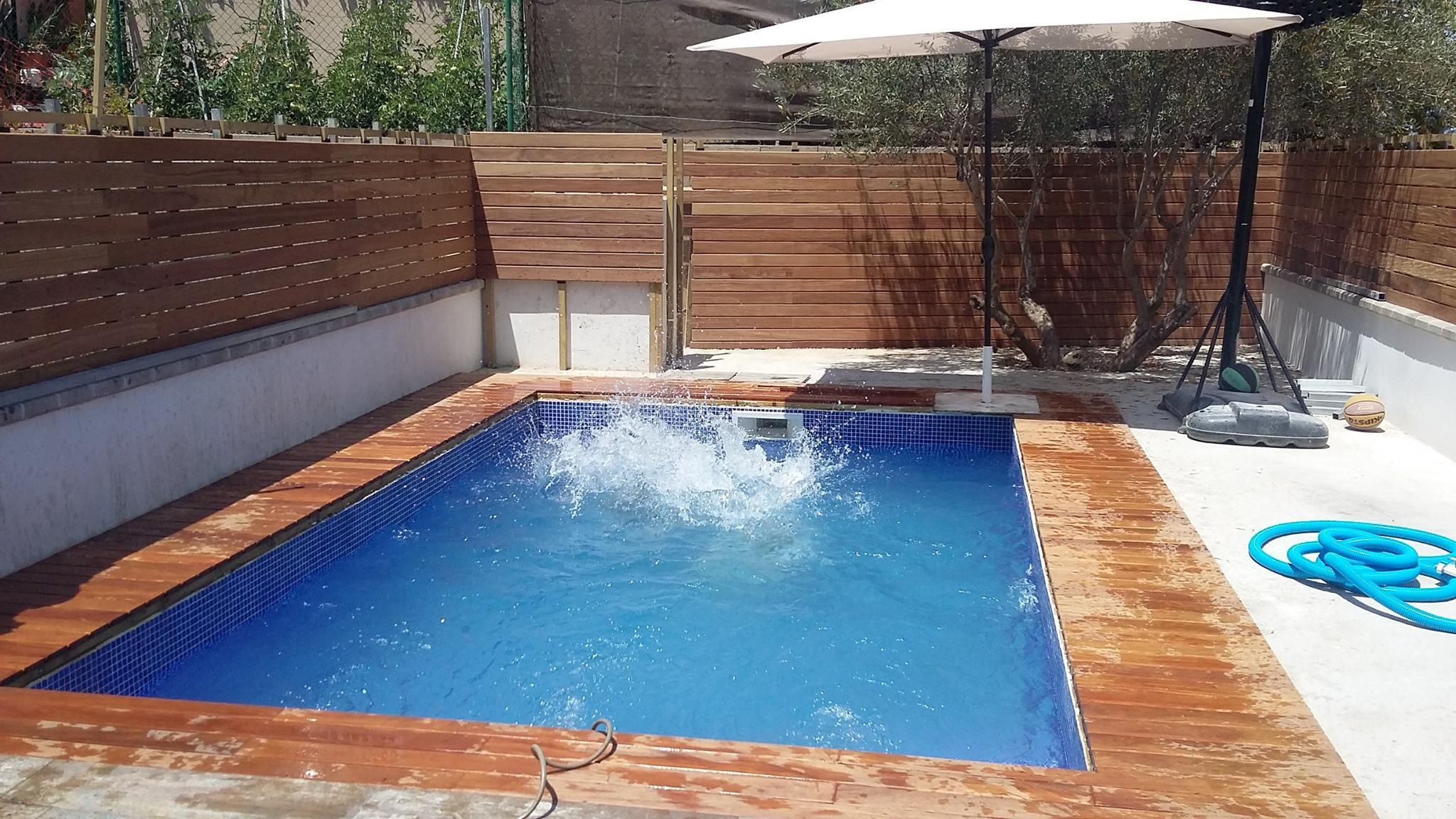 piscina en reus