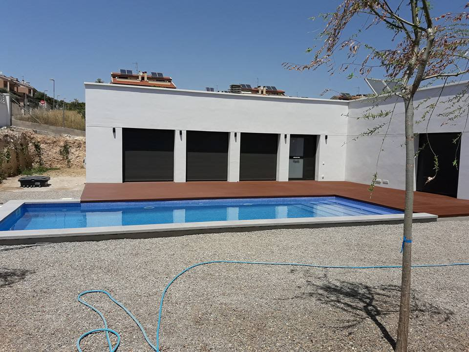 piscina en pallaresos